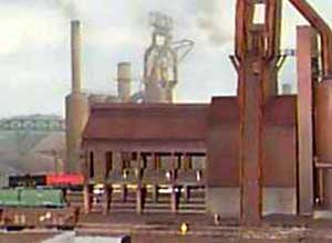 A large steel mill at Ironton consumes much of the C&S coal as well as providing the line with carloads of coil steel